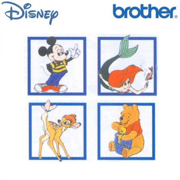 Brother Stickkarte No 06D - Taste of Disney