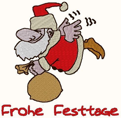 Stickmuster Santa