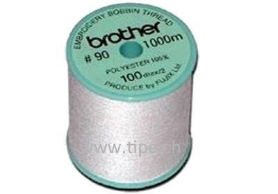 Brother Unterfaden für reine Stickmaschinen, weiss