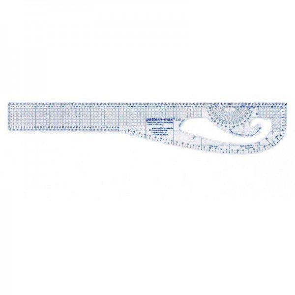 Pattern-max 1:3 Schnittkonstruktion Lineal Modezeichnen