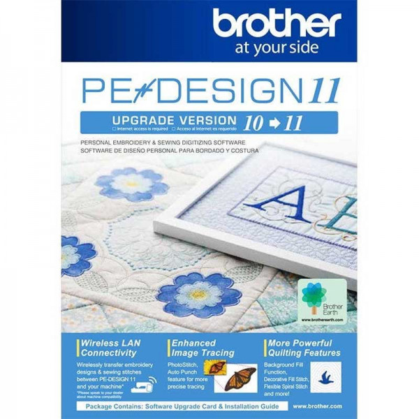 Brother PEDesign Upgrade 11 Sticksoftware
