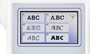 F480-Stickschriften