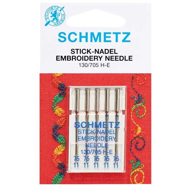 Schmetz aiguille brodeuses