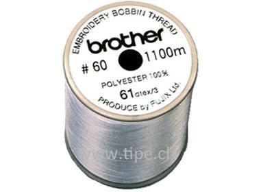 Brother Unterfaden für Näh-, Stickmaschinen, weiss