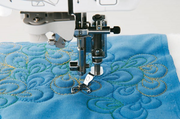 Brother pied quilting ouvert F061