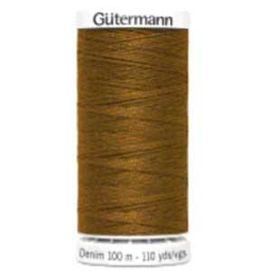 Gütermann fil jeans professionnel brun 2040