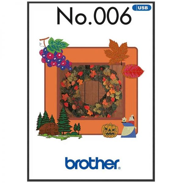 Brother Stickmuster BLECUSB6 Herbst