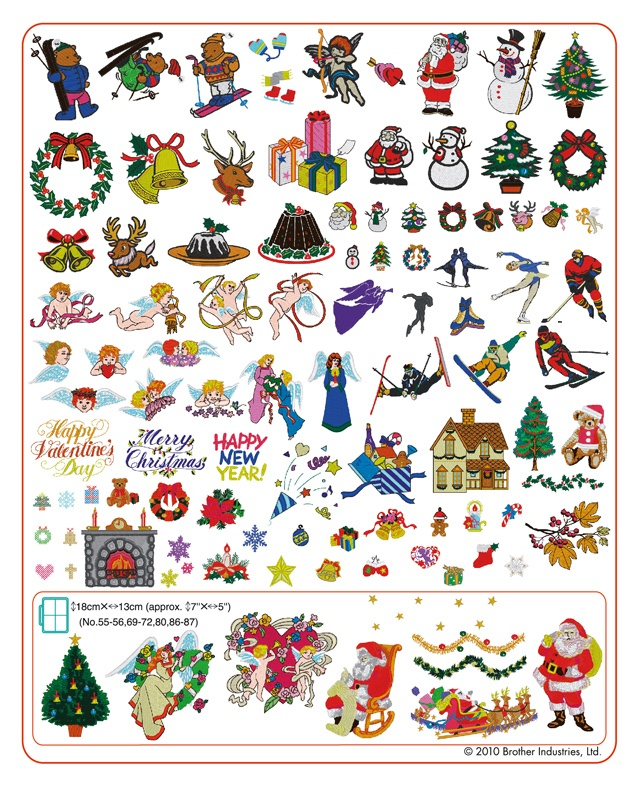 Brother Innov Is  Embroidery Designs