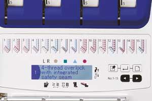 MO2000-LCD-Bildschirm