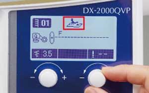 DX2000QVP-Fussdruckt