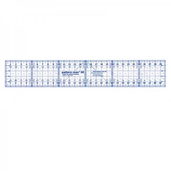 Schnittkonstruktion Pattern-max 30 Handlineal