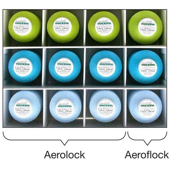 Madeira Aerolock Miniking Apple Blue 9201