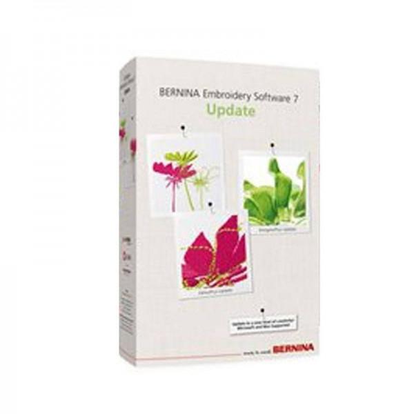Bernina Update 7 Embroidery Software