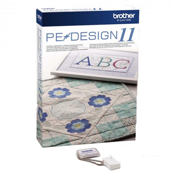 Brother PE-Design 11 Sticksoftware Stickprogramm