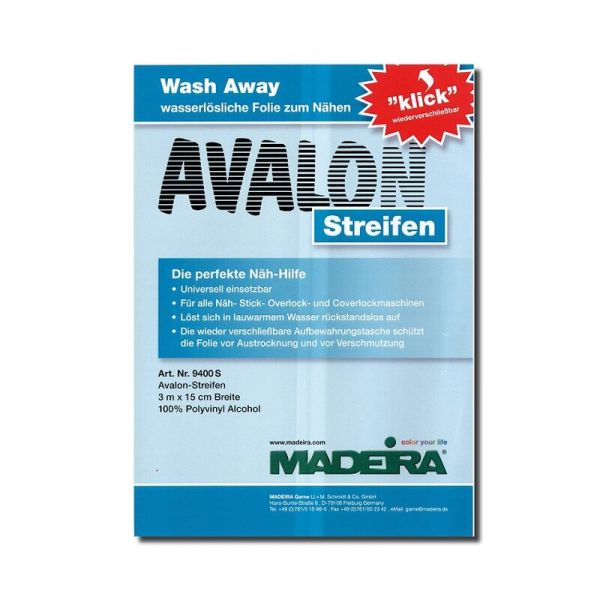 Madeira Avalon Film Streifen 15cm x 3m
