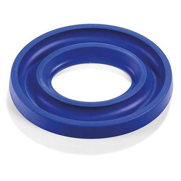 Spulenring Oval Blau