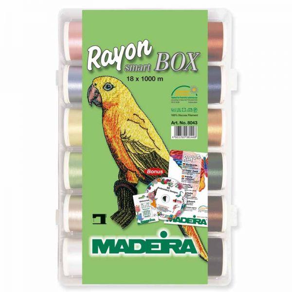 Madeira Stickgarn Rayon 40, 40 Spulen 1000m