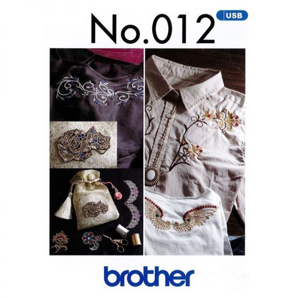 Brother Dekorative Muster - USB 012