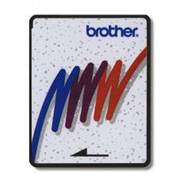 Brother Stickkarte leer wiederbeschreibbar